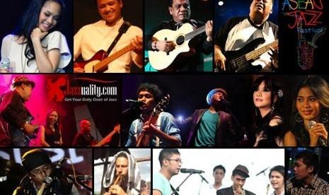 Sejumlah musisi jazz yang akan tampil di ASEAN Jazz kelima pada Juni 2012