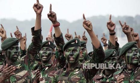 In Picture: Pembentukan Batalyon Raider Yonif 408/SBH