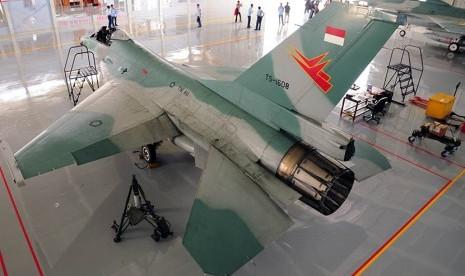 Danlanud Sayangkan Foto F16 Tergelincir Tersebar di Medsos