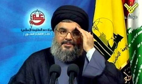 Sekertaris Jendral Hizbullah Sayyed Hassan Nasrallah