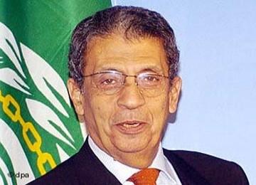 Sekjen LIga Arab Amre Moussa