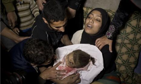 Korban Agresi Israel 42 Persen Anak-anak dan Perempuan