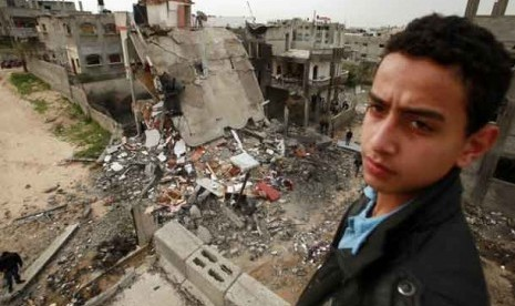 Palestina Hujani Israel Roket, Dibalas dengan Serangan Udara