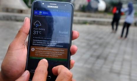 BMKG Kembangkan Aplikasi Info Cuaca Hadapi Mudik Lebaran