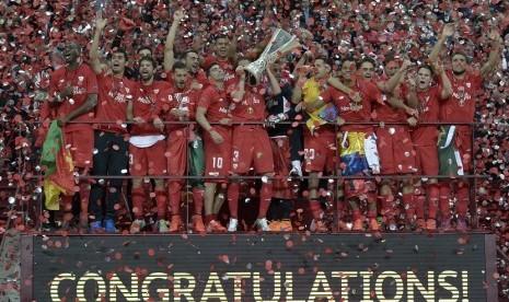 Sevilla berhasil mempertahankan gelar Liga Europa