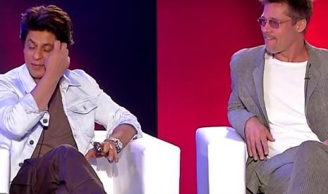 Brad Pitt Pesimistis Sesukses Shahrukh Khan di Bollywood