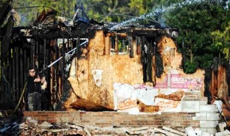 Masjid Terbakar tak Halangi Muslim Joplin Laksanakan Shalat Id