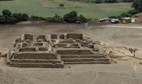 Kuil Kuno Berusia 5.000 Tahun Ditemukan di Peru