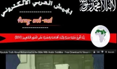 Hacker Muslim Serang Situs Negara Barat