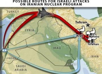 skenario Israel serang Iran (ilustrasi)