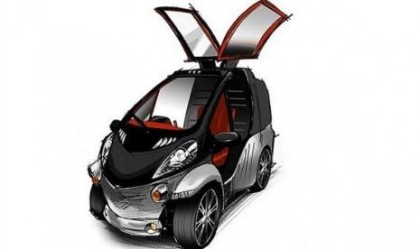 Mobil Praktis Dengan Konsep Berbentuk Serangga [ www.BlogApaAja.com ]