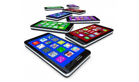 Smartphone. Ilustrasi.