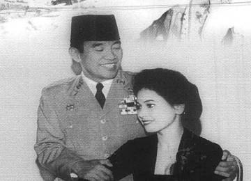Soekarno dan Ratna Sari Dewi