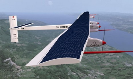 Solar Impulse akan Terbang Perdana Swiss-Maroko