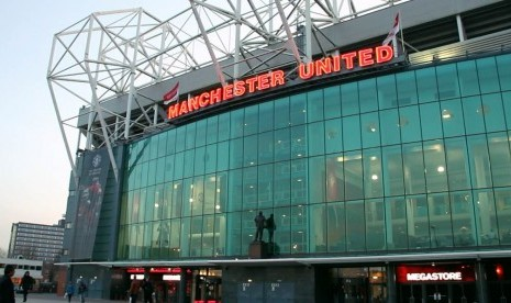 stadion Old Trafford, Manchester United, Inggris