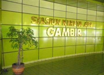 Stasiun Gambir.