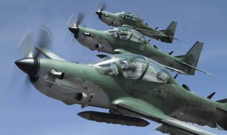TNI AU Segera Miliki Empat Pesawat Tempur Super Tucano EMB-314