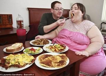 Mau Tau Makanan Wanita Tergemuk di Dunia? Ini Menunya
