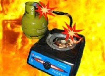 Tabung gas 3 kg kembali meledak
