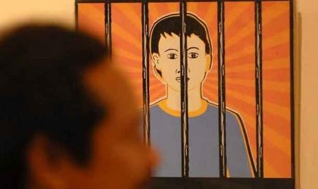 Tahanan anak dibawah umur.  (Ilustrasi)
