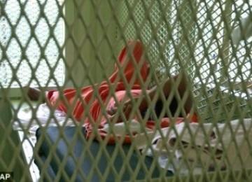 Tahanan di Guantanamo (Ilustrasi)
