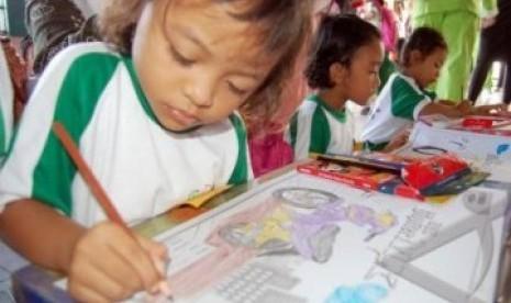 Taman kanak kanak (ilustrasi)
