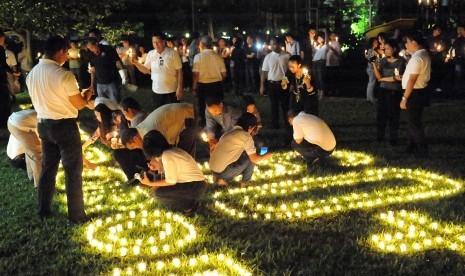 Cara Hotel Berbintang Jakarta Rayakan Earth Hour