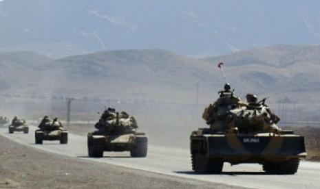 Tank Suriah Masuki Dataran Tinggi Golan, Israel Protes