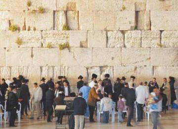 Tembok Ratapan, tempat yang disakralkan Yahudi