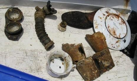 Temuan-Temuan dari Bangkai Kapal Selam U-Boat. Tim Peneliti Pusat Arkeologi Nasional berhasil menemukan bangkai kapal selam U-Boat milik Nazi Jerman. Bangkai kapal selam yang berasal dari Perang Dunia II ini terletak di sekitar kawasan perairan Kepulauan K