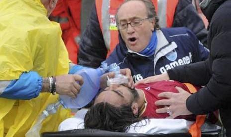 Ucapan belasungkawa disampaikan oleh para pemain Serie-A untuk