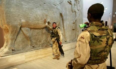 AS dan Israel Mencuri Salinan Perjanjian Lama Milik Irak