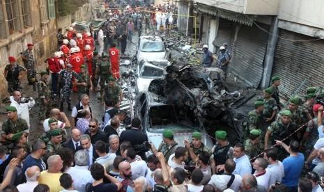 PM Lebanon Batal Mundur pasca Bom Beirut