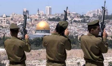 Tentara Israel di Yerusalem