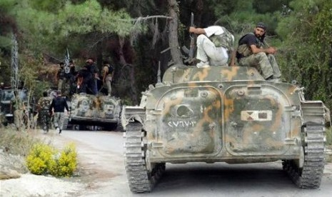 Rusia: AS Kirim Senjata untuk Pemberontak Suriah