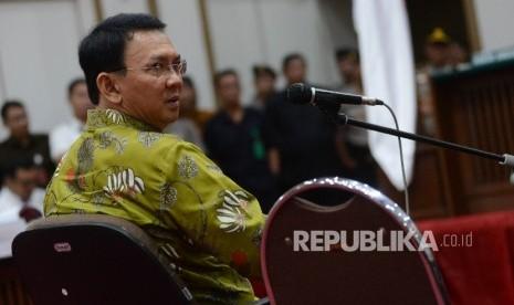 In Picture: Basuki Tjahaja Purnama Jalani Sidang Ke-15 Kasus Penistaan Agama