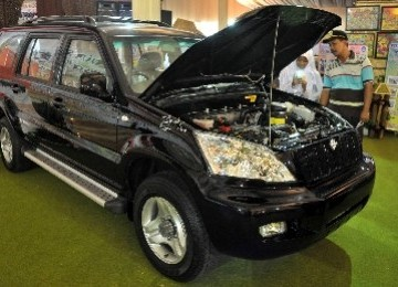 The student made car, Kiat Esemka, is on display (photo file)