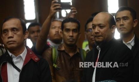 In Picture: Tiga Penyidik KPK Jadi Saksi dalam Sidang Kasus  KTP-El