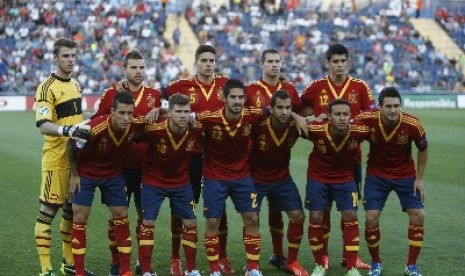 Tim sepak bola Spanyol.