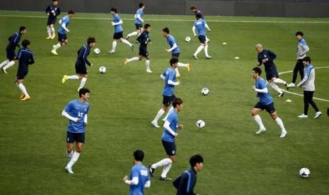 Timnas Korea Selatan.