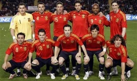 Timnas Spanyol.
