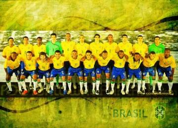 Jelang piala konfederasi, brasil lakukan serangkaian uji coba