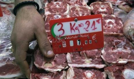 Toko daging halal di Eropa