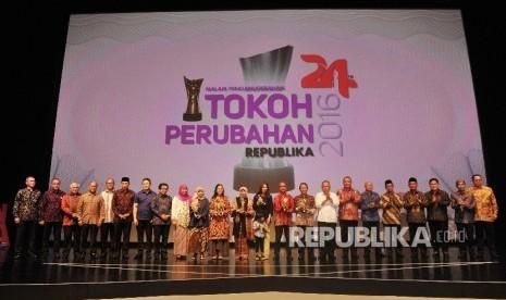 In Picture: Enam Tokoh Dinobatkan Sebagai Tokoh Perubahan Republika 2016