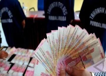 Uang palsu, ilustrasi