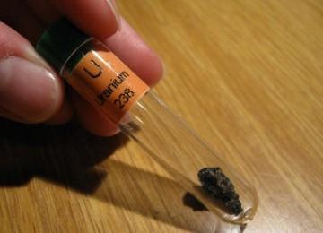 Uranium (Ilustrasi)