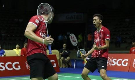 Wahyu Nayaka/Ade Yusuf menjadi juara di Thailand Open 2015