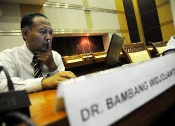 Wakil Ketua KPK Bambang Widjoyanto