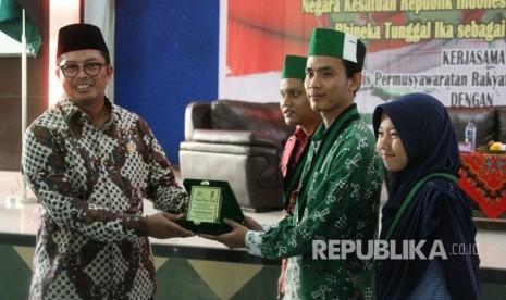 In Picture: Kader HMI Medan Ikuti Sosialisasi Empat Pilar MPR