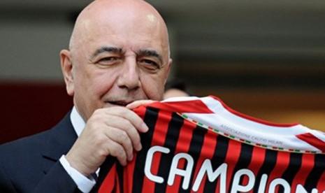 Wakil Presiden AC Milan Adriano Galliani